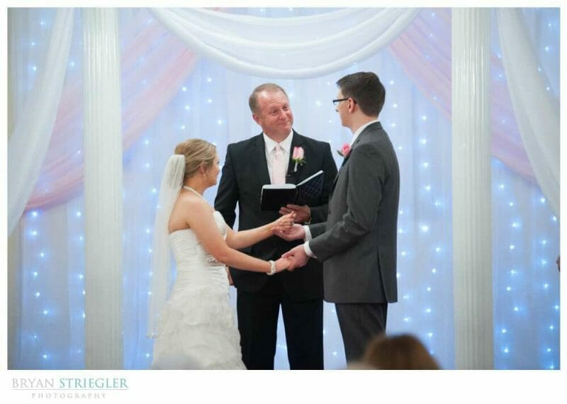 Arkansas Wedding father is pastor