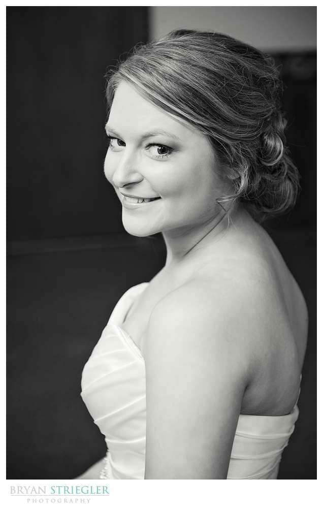 Arkansas Wedding bridal portrait