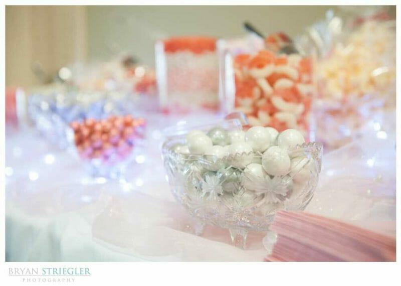 Arkansas Wedding candy bar