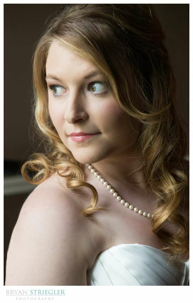 Fayetteville Bridal Portraits head shot