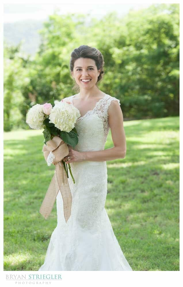 Whitney Mountain Lodge wedding bridal portrait
