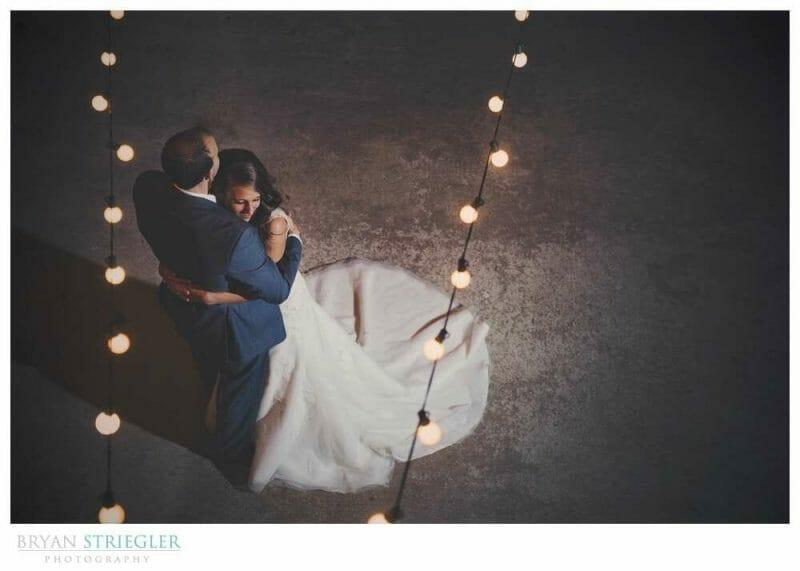 Training a Photographer wedding first dance
