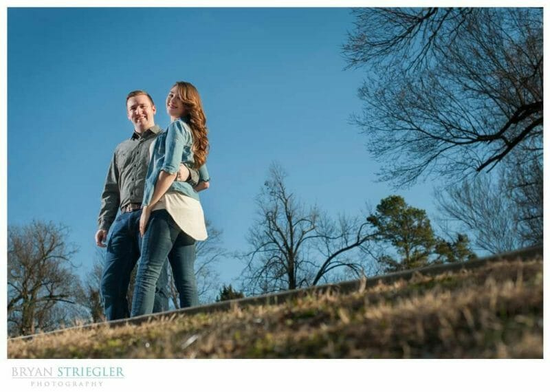 3 Ways to Quickly Improve Your Photos low angle blue sky