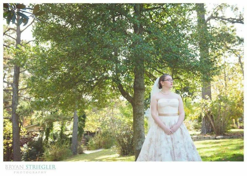 Eureka Springs Wedding Photographer bride Crescent Hotel