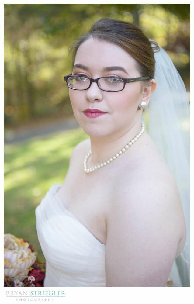 Eureka Springs Wedding Photographer bride headshot