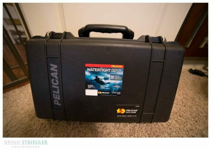 Pelican 1510 Case Review Front View