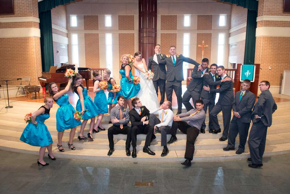 Pinterest for Wedding Photography bridal party acting crazy