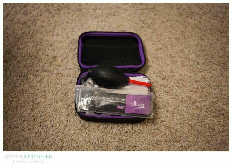 Opening Altura Sensor Cleaning Kit