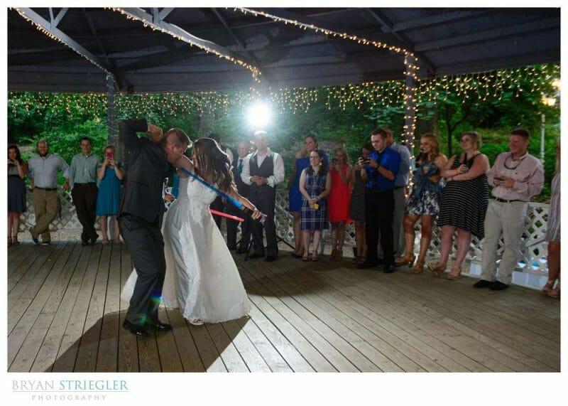 Light Saber first dance