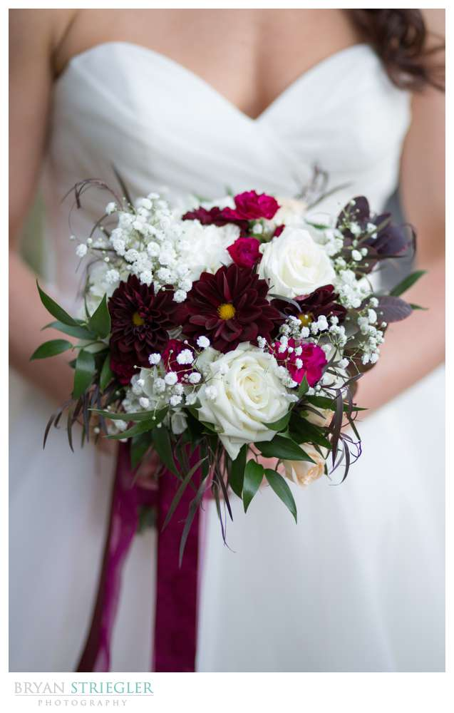 bouquet from rose of sharon
