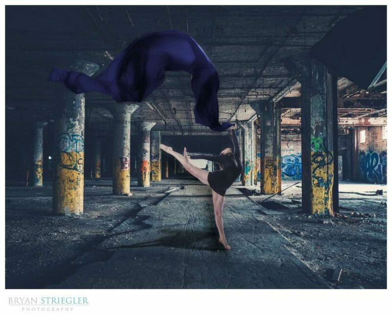 Creating a Composite Dance Photo