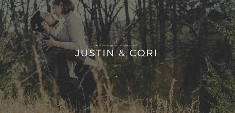Personalized Wedding Websites to Share With Wedding Guests