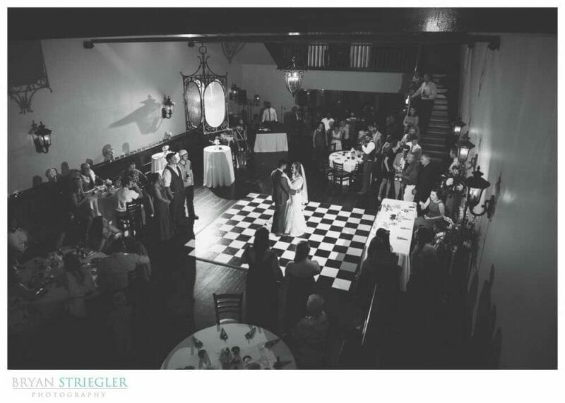 First dance at the Grand at 117