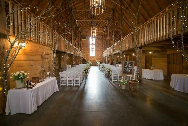 wedding venues in Fayetteville AR