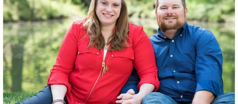 Engagement photos at compton gardens