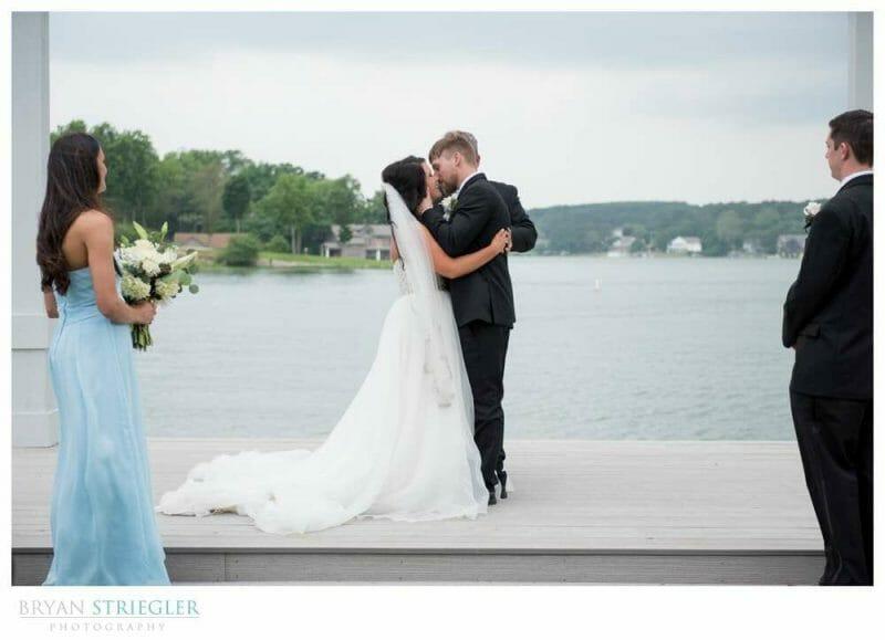 wedding photos at Lake View