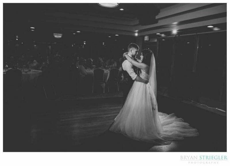 first dance at Lake Point
