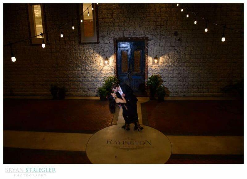 engagement photo at the Ravington