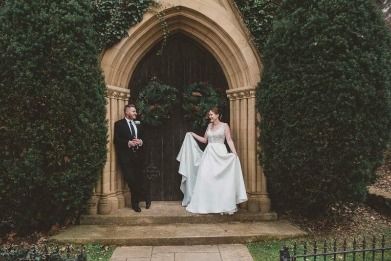 wedding-portrait-in-front-of-St.-Catherine's