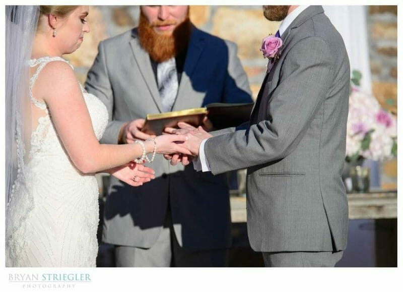 tying the knot ceremony