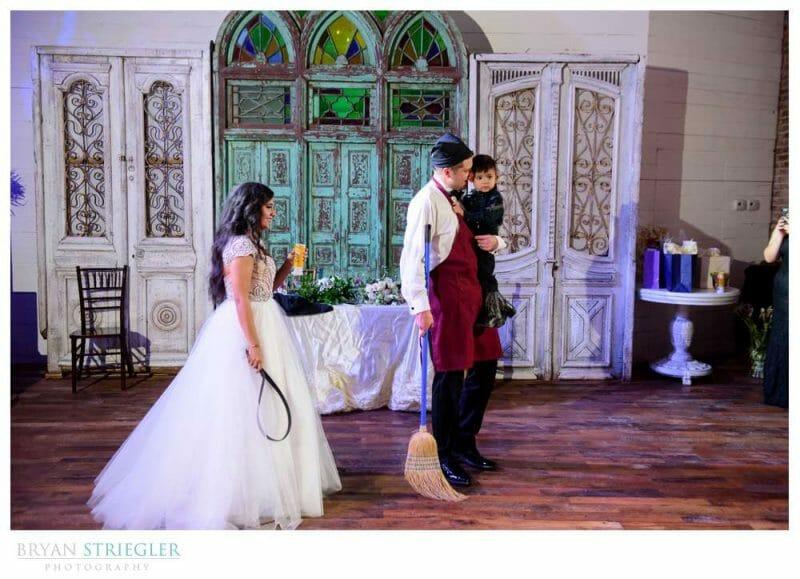 Hispanic wedding tradition mandilon