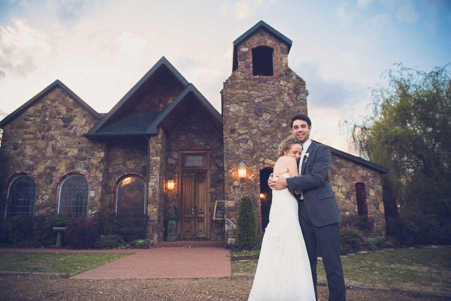 Stone Chapel at Matt Lane Farm wedding venue