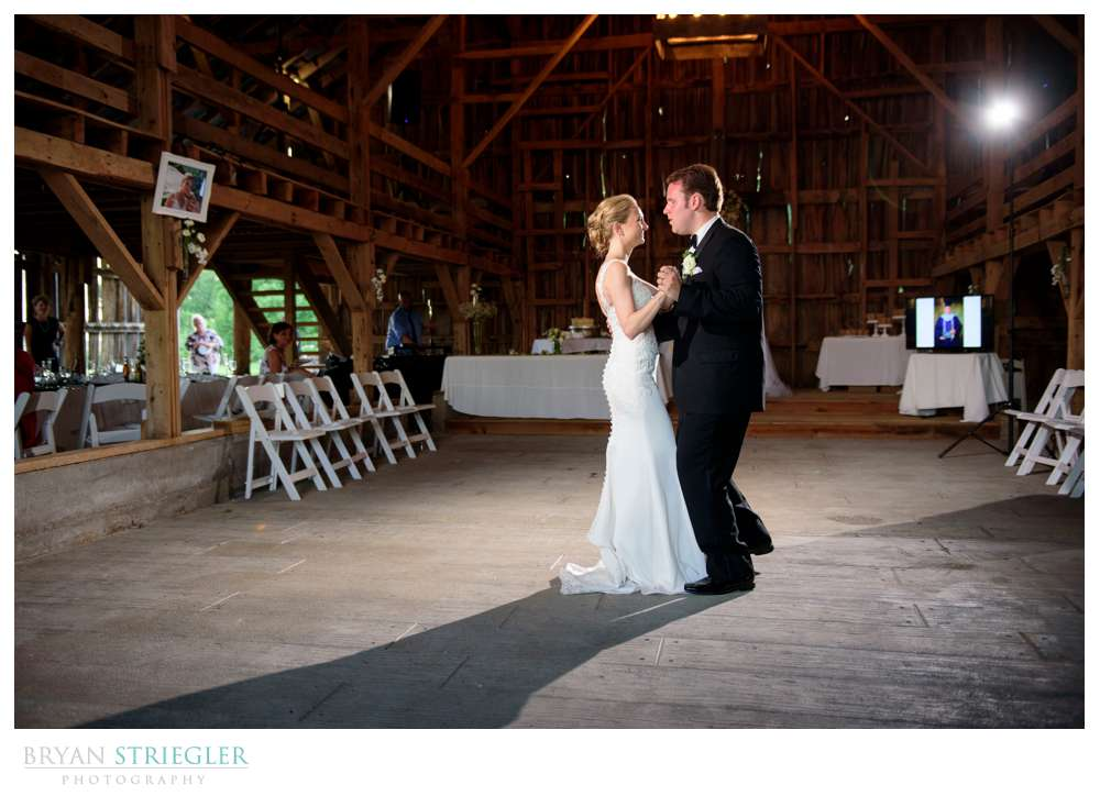 first dance at Hat Creek Ranch