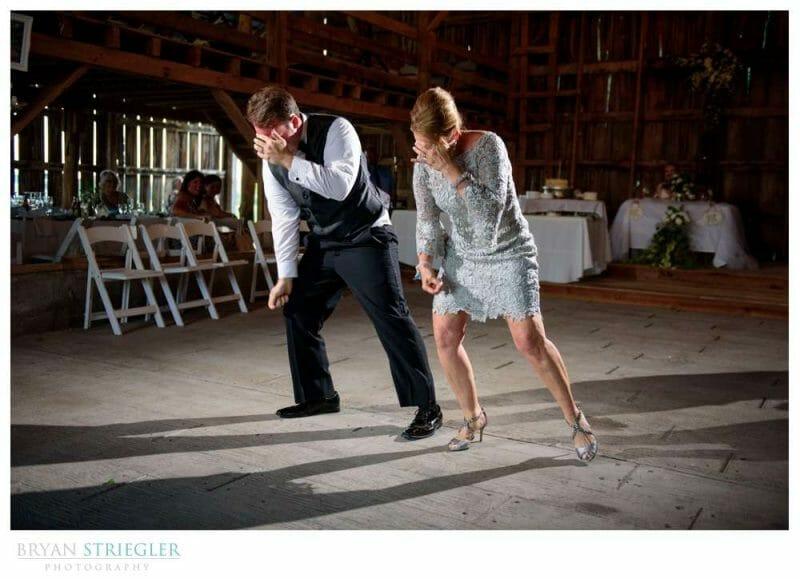 choreographed mom son dance