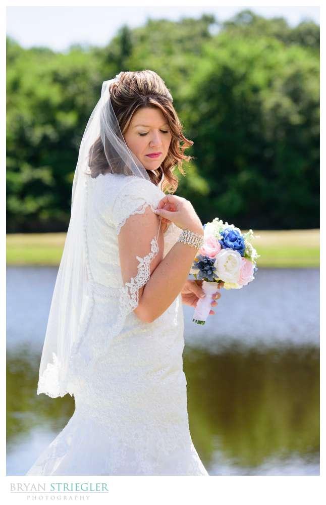 Staci's Bridal Portraits in Van Buren