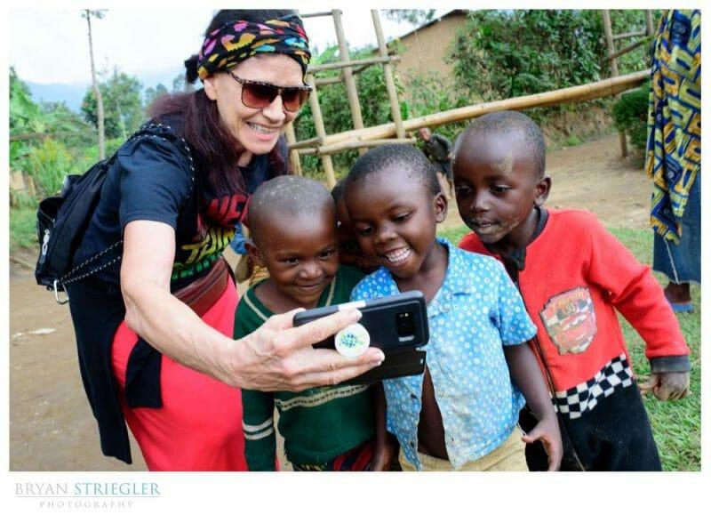 children in Banda Village