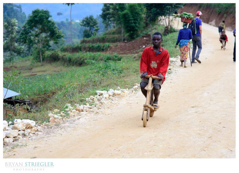 homemade bike in Rwanda