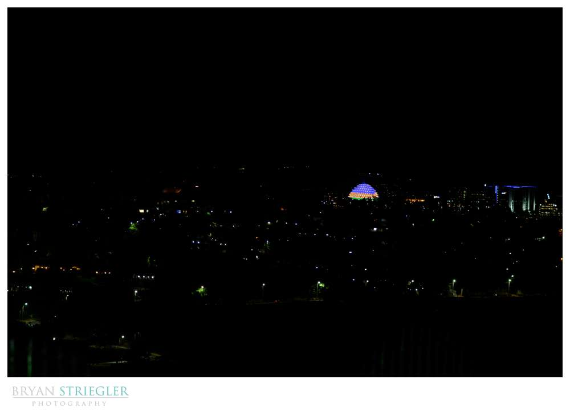 Kigali night sky
