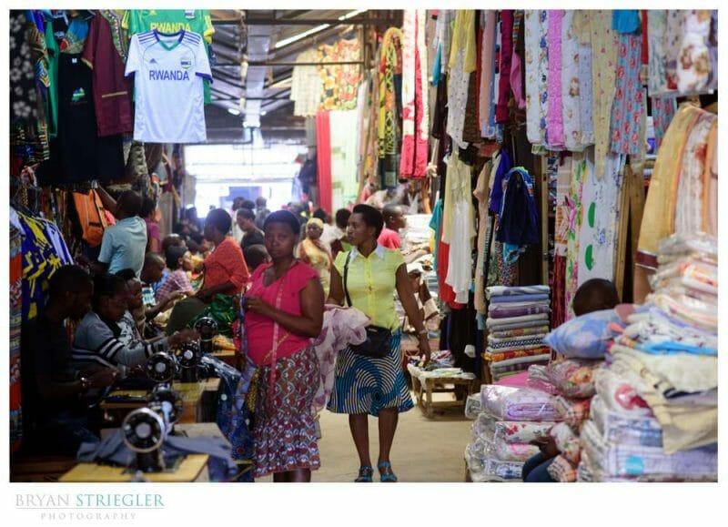 market at Kigali