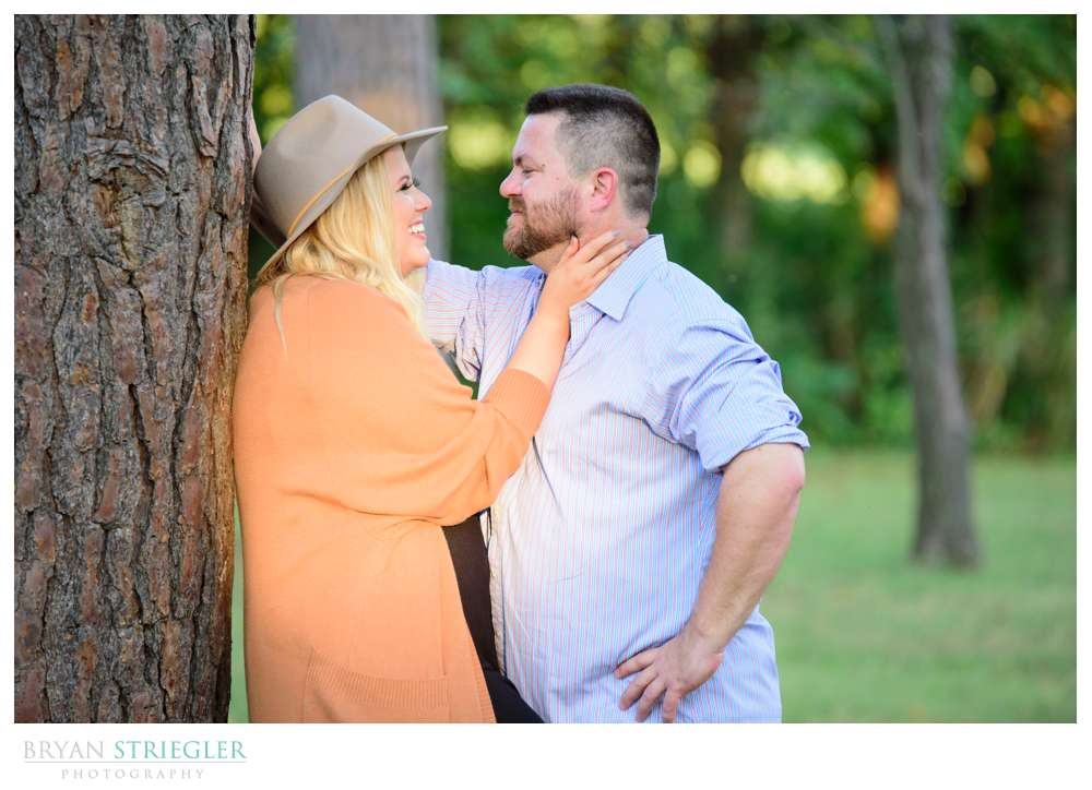 Engagement Session at Lake Fayetteville