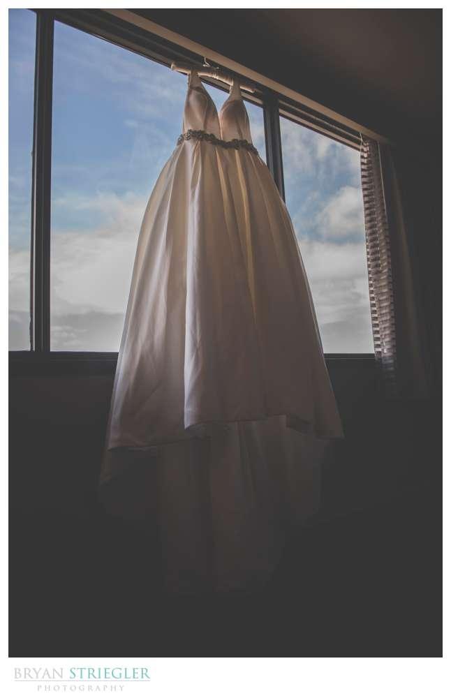 wedding dress at Chancellor hotel