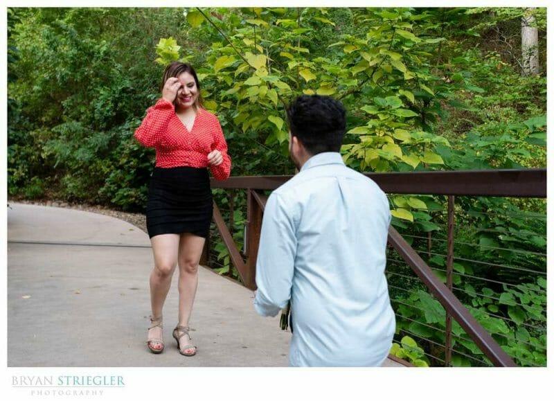 secret wedding proposal
