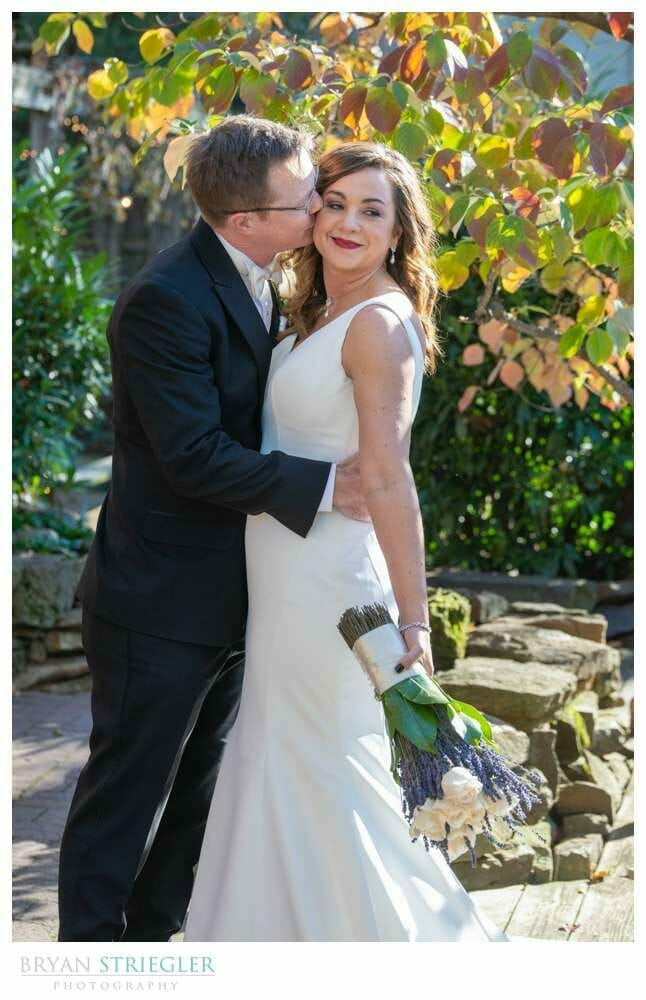 couple portrait at the Garden Room