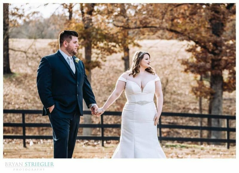 outdoor portrait at the Barn at the Springs