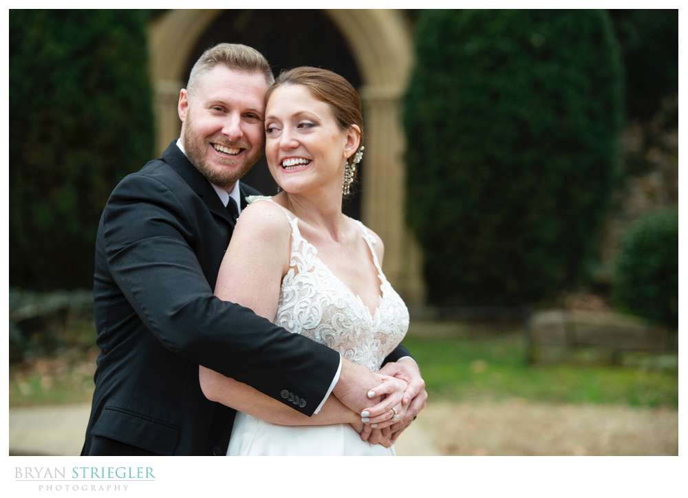 intimate wedding in Fayetteville