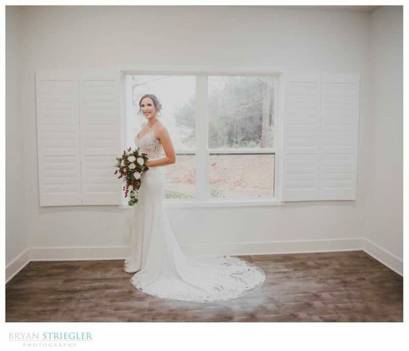 bride in Legacy Acres