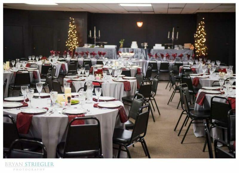 reception at mount Sequoyah wedding venue