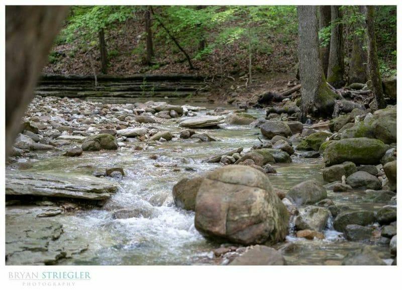 creek in Ponca