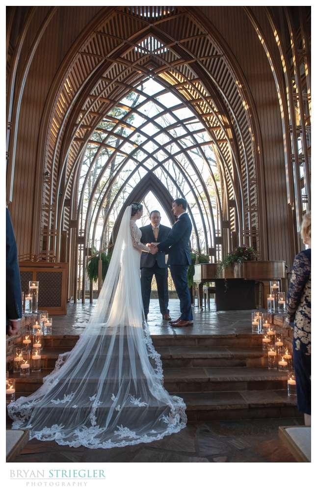 wedding ceremony at Mildred B Cooper