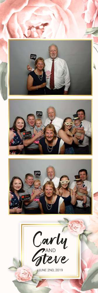 vertical photo booth template