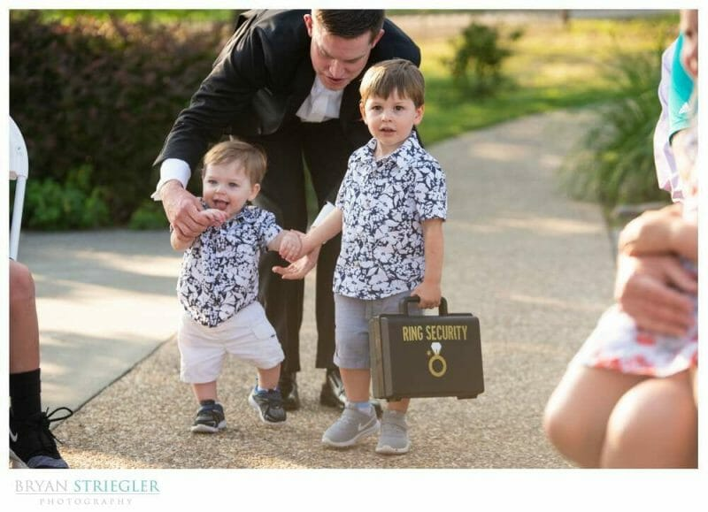 ring bearer with case