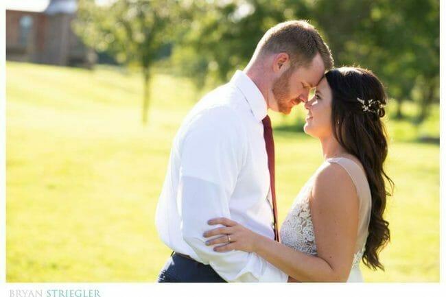 wedding in vineyard