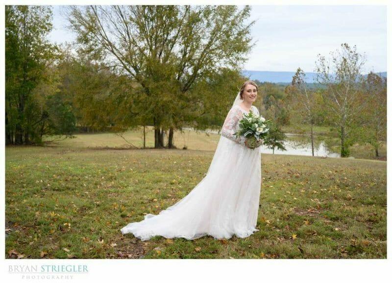 bridal portrait at Heritage Acres