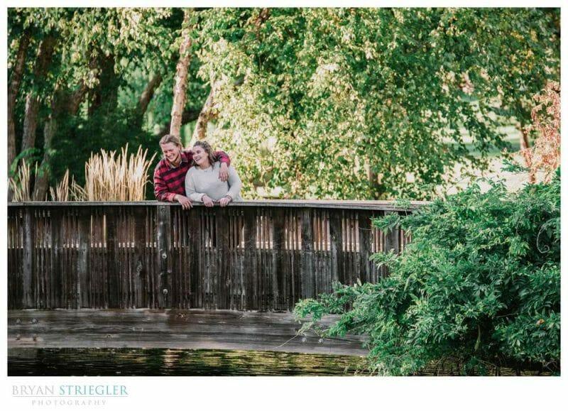 bridge at Loose Park in KC