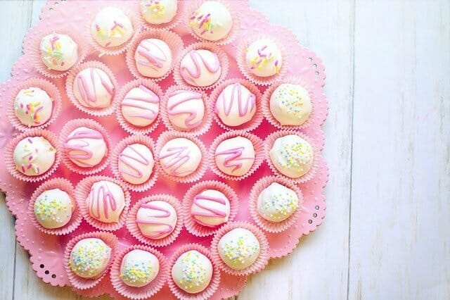 Cake Balls Dessert Sweets