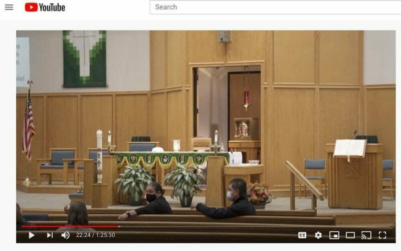 live streaming a funeral